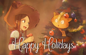 Happy Holidays (Pepper & Carrot)