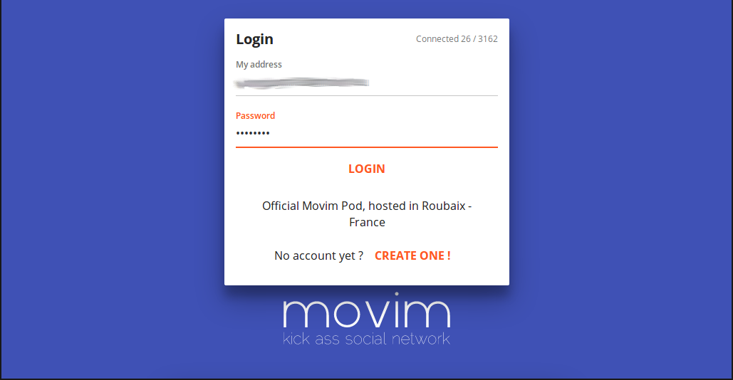 Movim Login